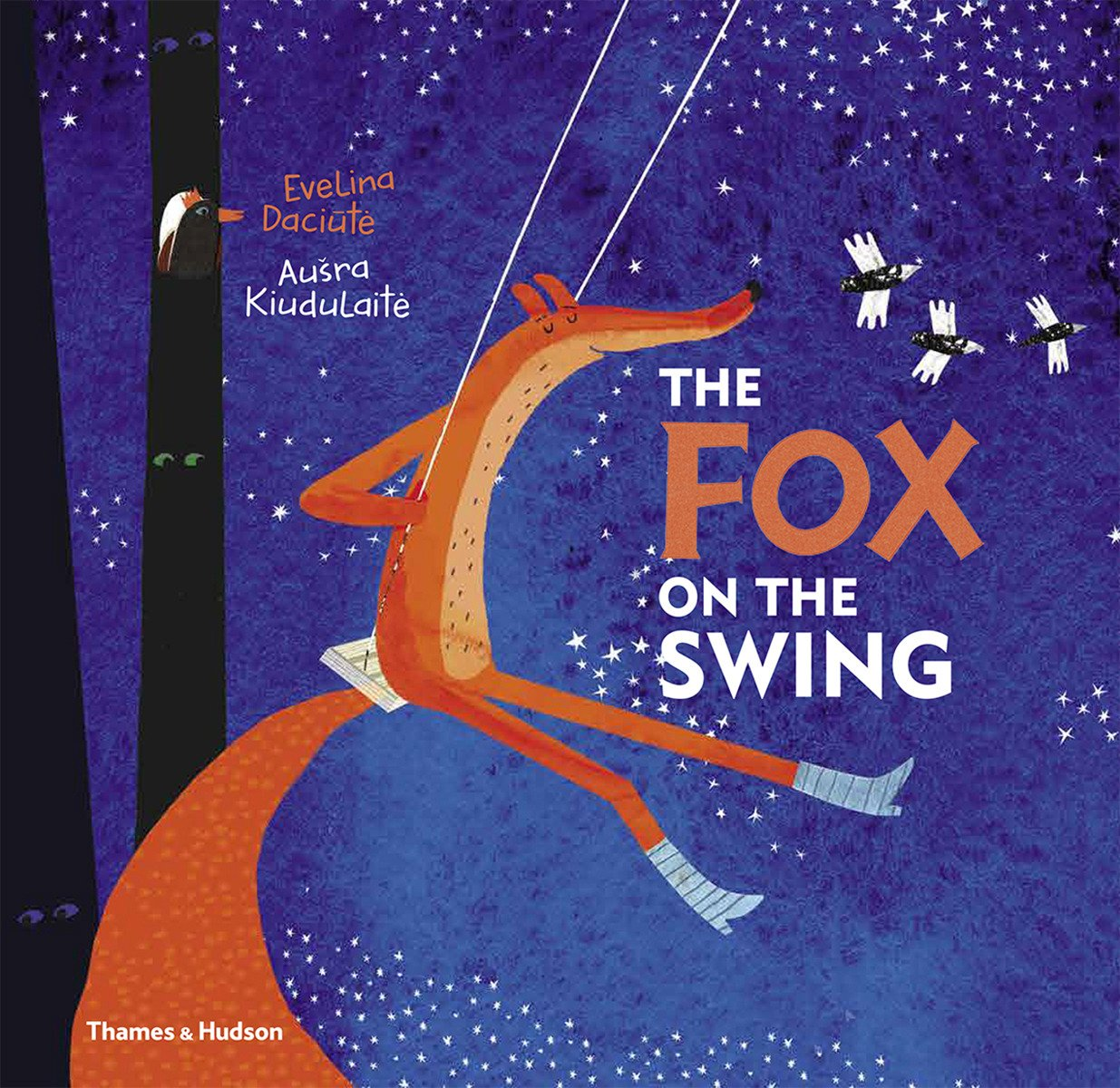 The Fox on the Swing  .  By Evelina Daciūtė.    (Batchelder Award Book)