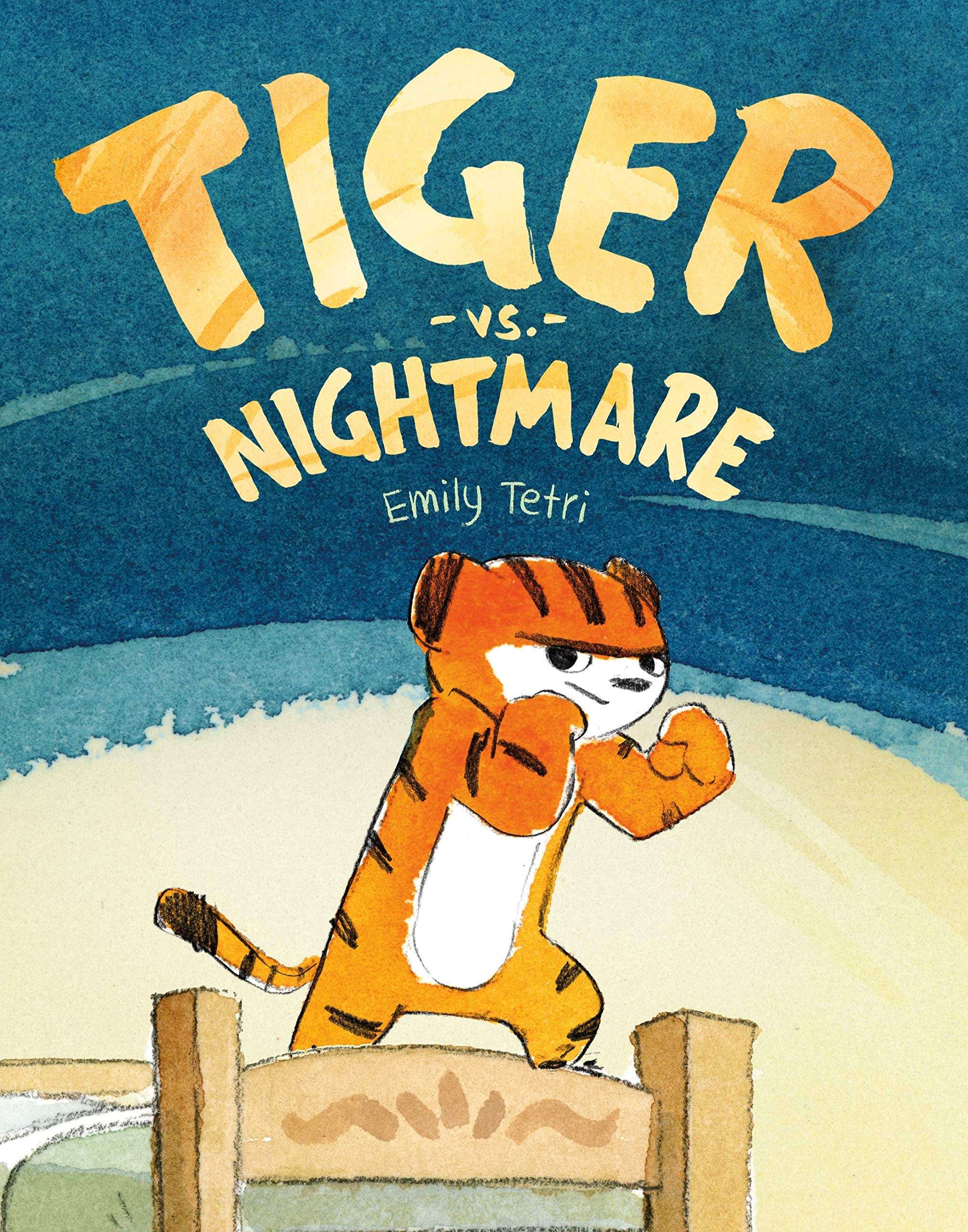 Tiger vs. Nightmare  .  By Emily Tetri.    (Geisel Honor Book)
