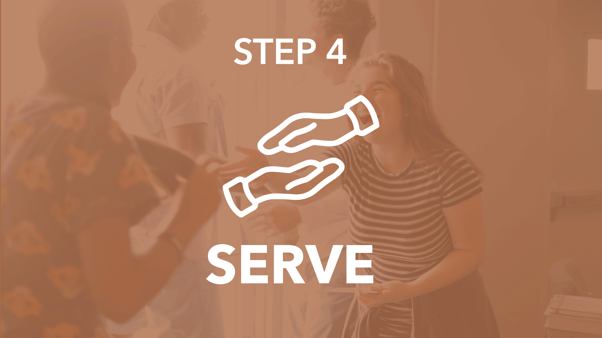"""Take a """"Backstage Pass"""" tour of The Cause Church and connect with opportunities to live out your purpose and  SERVE God  on The Cause Team, making an eternal impact for Jesus in the lives of others.   Step 4 meets the 4th Sunday of each month"""