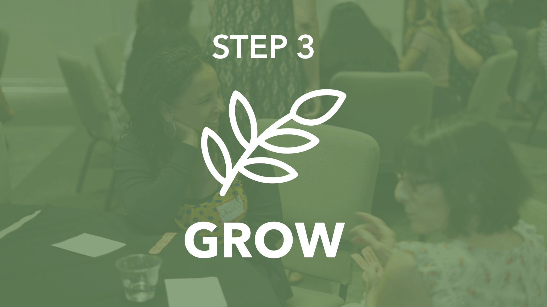 Learn essential habits that will help you  GROW strong  into a fully functioning follower of Jesus - one who lives a transformed life, develops a deeper relationship with Christ, and becomes spiritually healthy and mature.   Step 3 meets the 3rd Sunday of each month