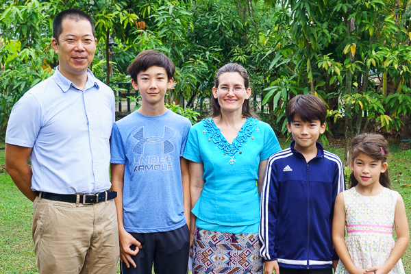 The Ikeda Family