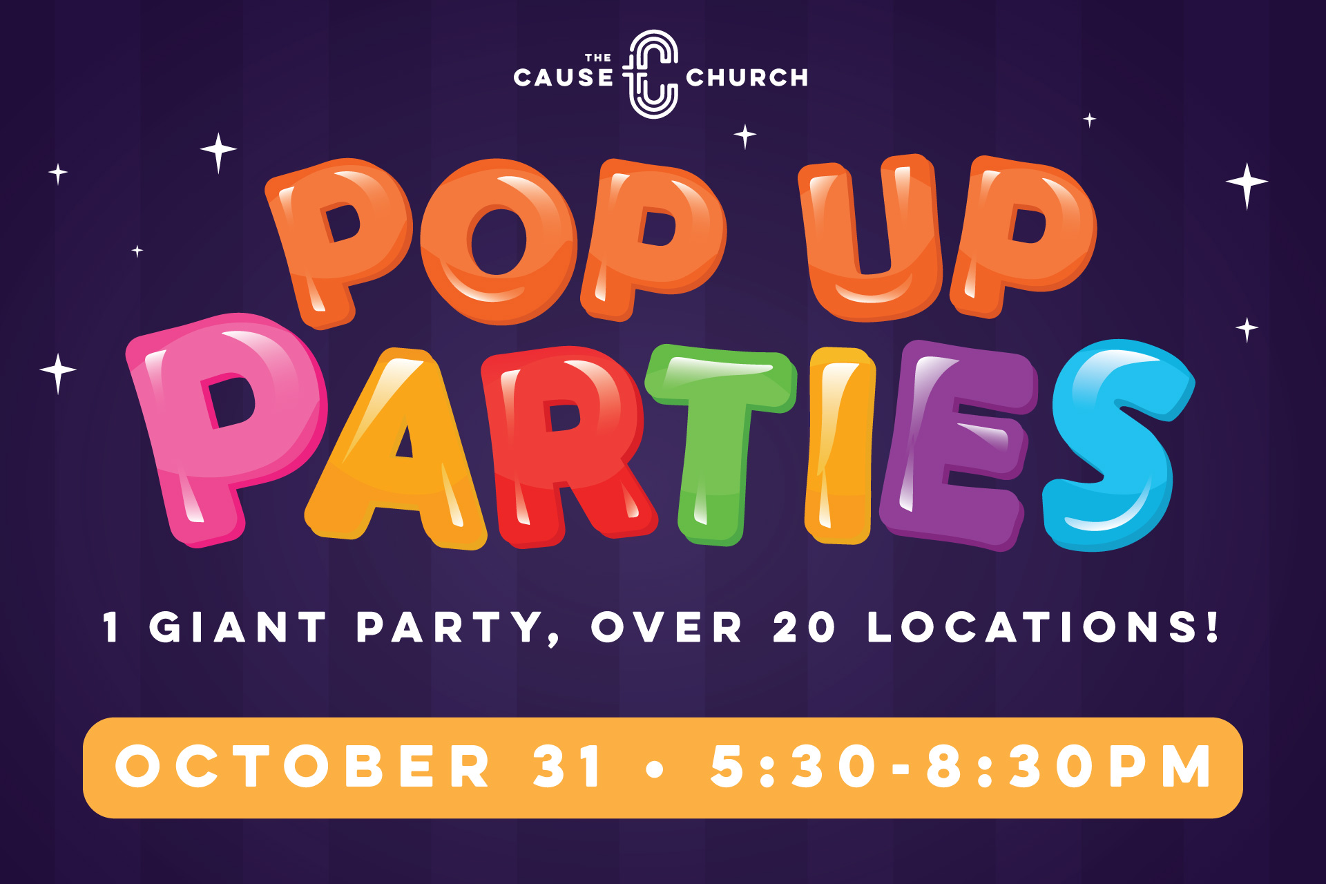 The Cause Church's Pop Up Parties.jpg