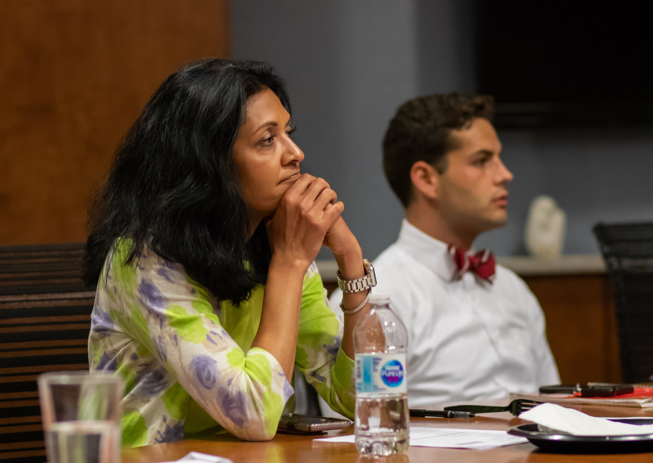 (Left) Dr. Anita Somani, Immediate Past President of the CMA, (Right) Douglas Weaver, MD Candidate, The Ohio State University College of Medicine President
