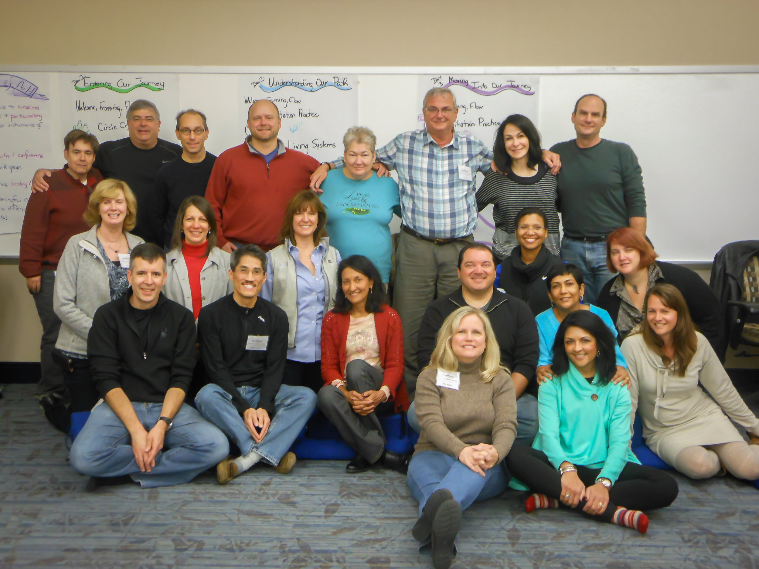 Dr. Phil Cass and the 2014 Physicians Leadership Academy class