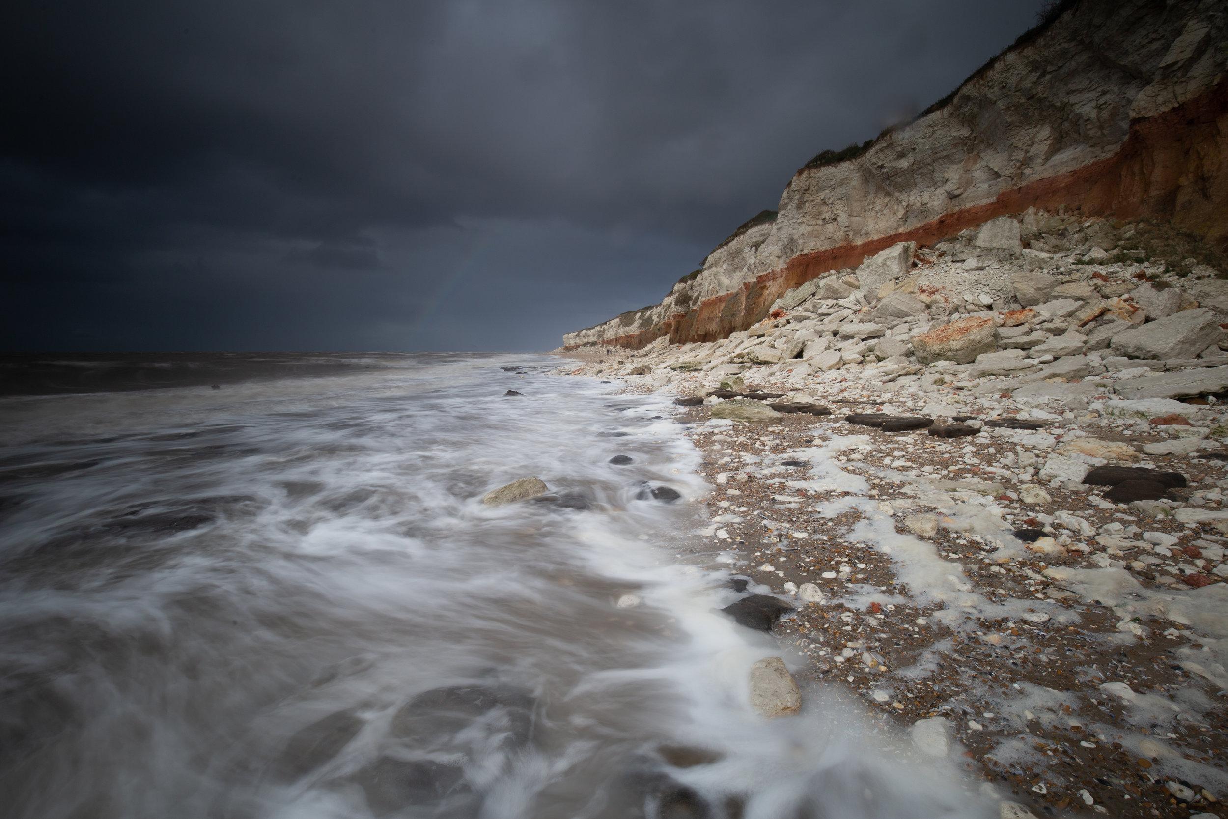 Coloured Coast, Hunstanton Beach, Norfolk.