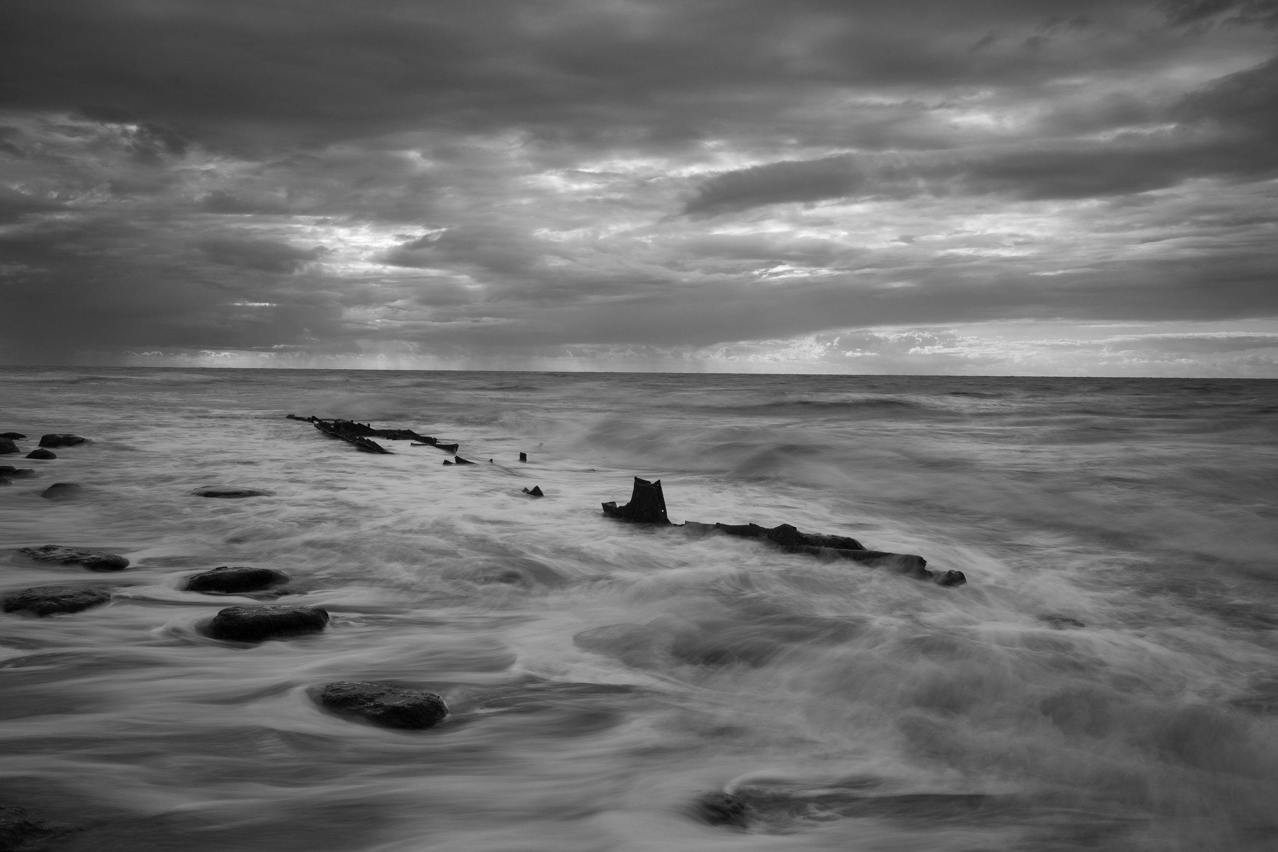 Cramped Frame, Hunstanton Beach, Norfolk.