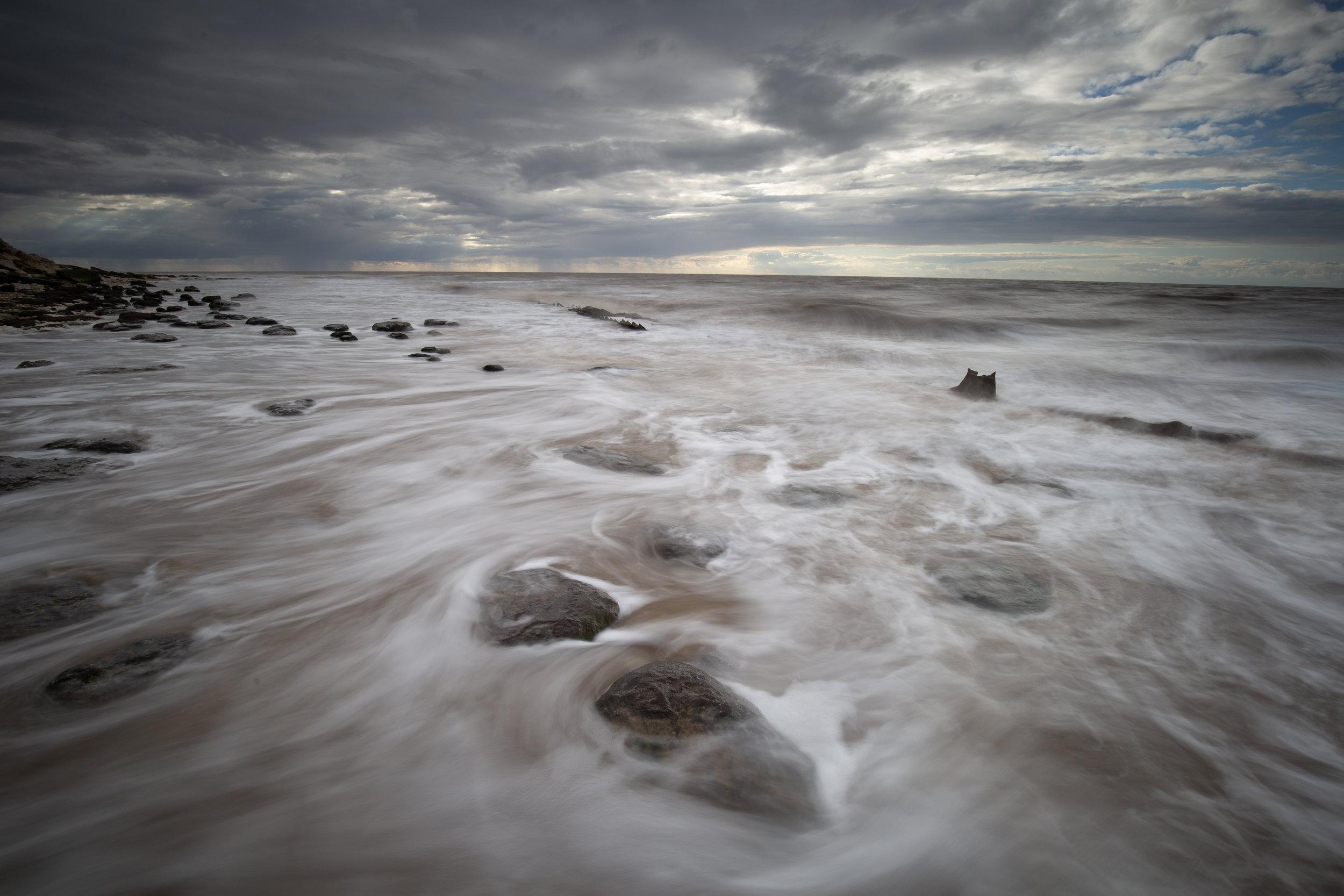 Old lines, Hunstanton Beach, Norfolk.