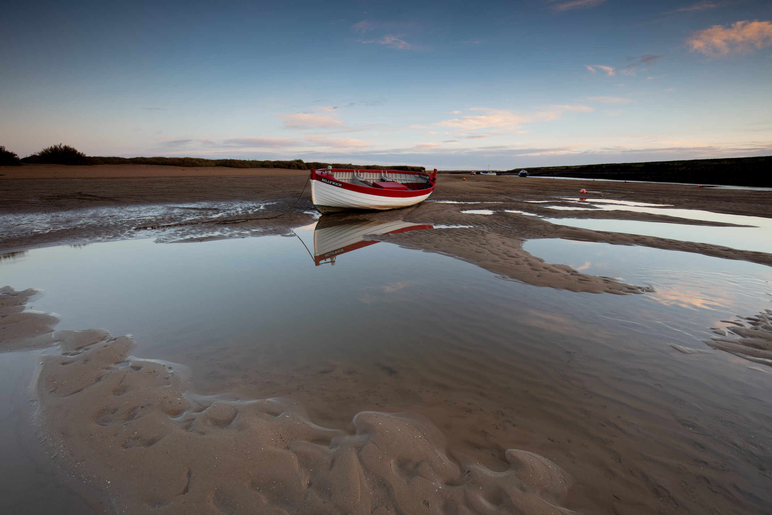 Early reflections, Morston, Norfolk.