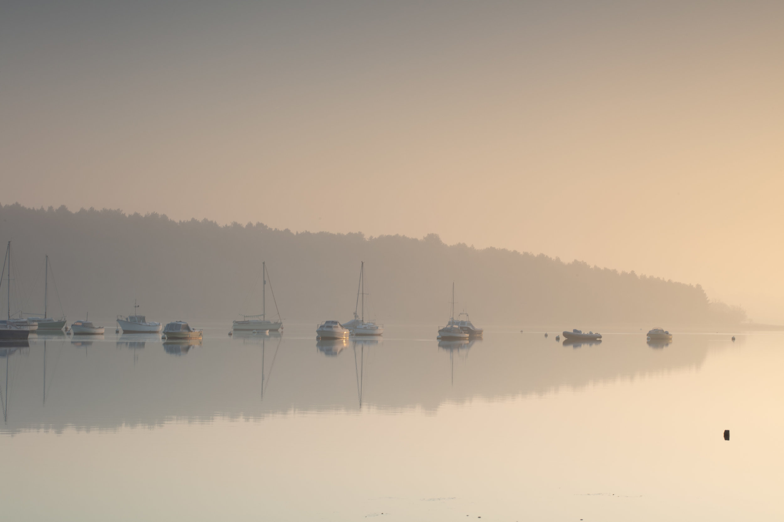 Early Start, River Orwell, Suffolk.