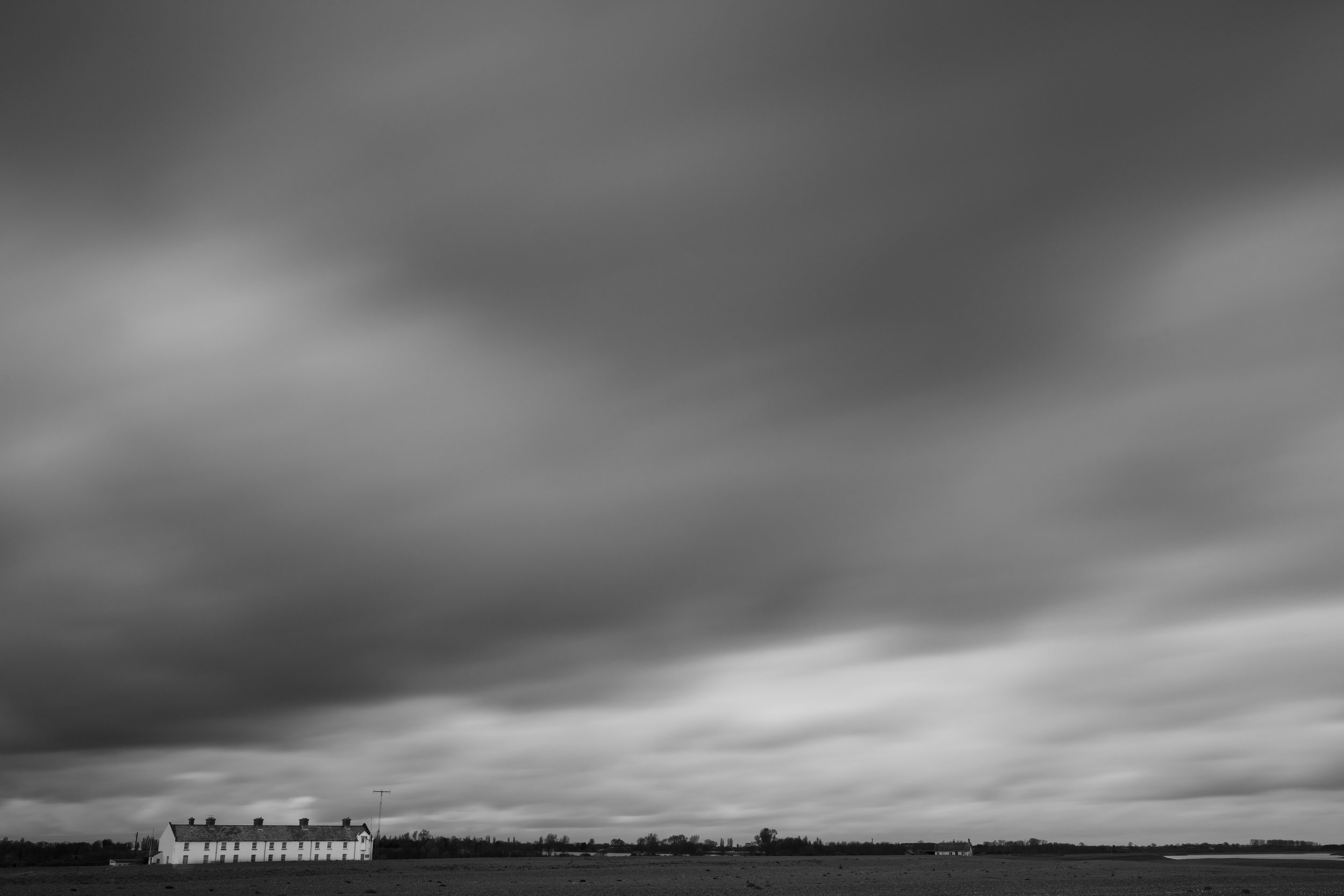 Shingle Sky, Shingle Street, Suffolk.
