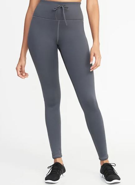 Comfortable fleeced lined legging in many colours. These are from Old Navy and are $34.99