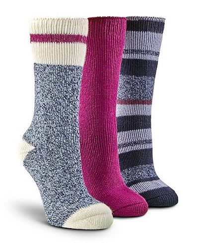 Only $23.00 these are cute heated socks.