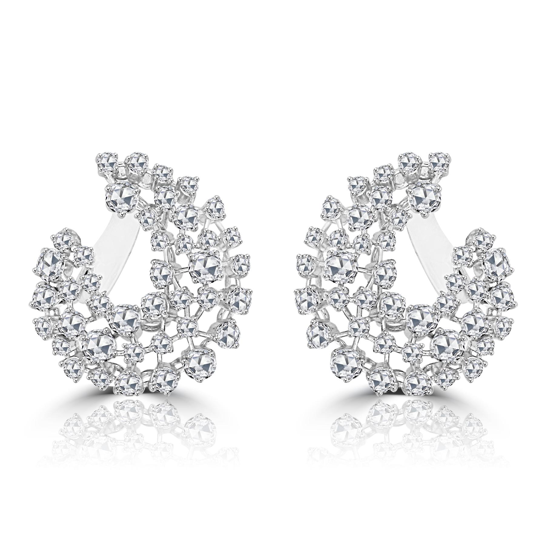 Rose Cut Diamond Milky Way Earrings.jpg