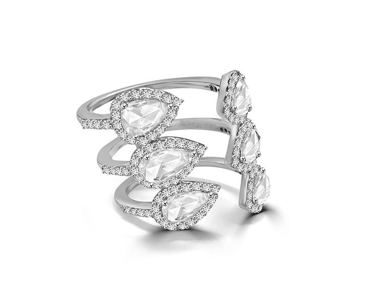 Rose Cut Diamond Claw Ring.jpg