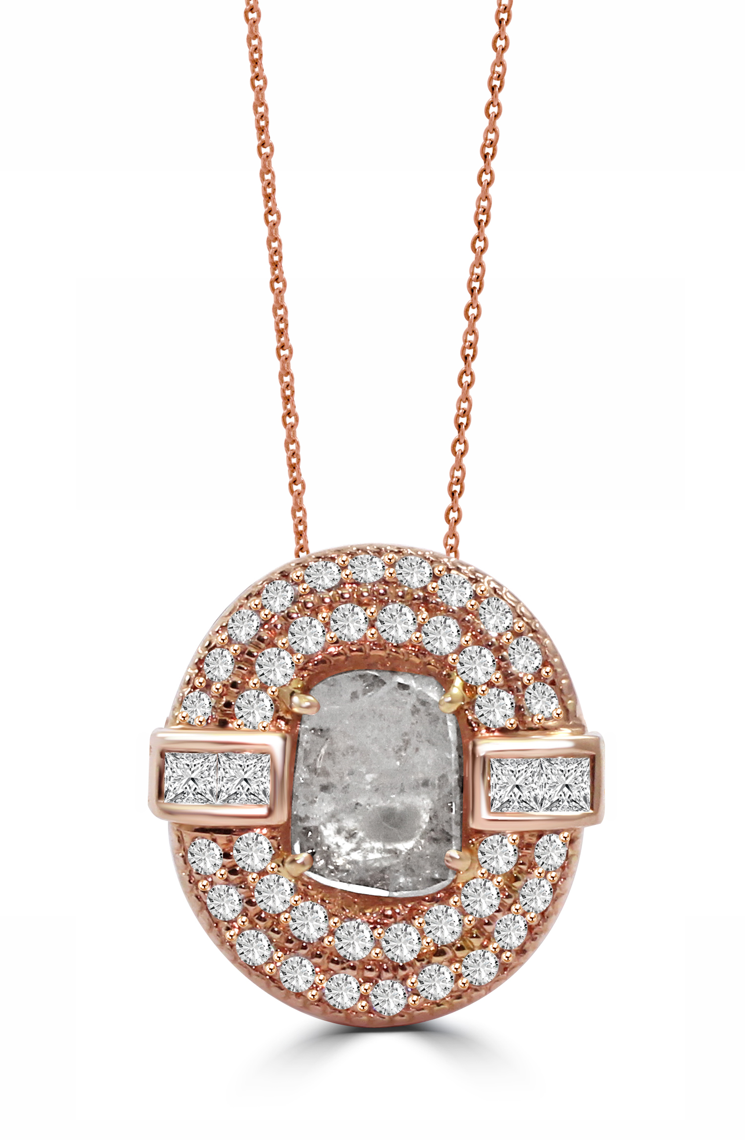 Rose Gold Diamond Slice Pendant.JPG