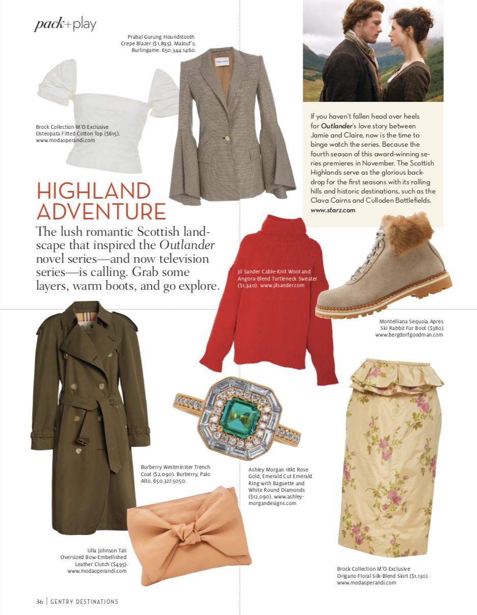 Ashley Morgan in Gentry Magazine