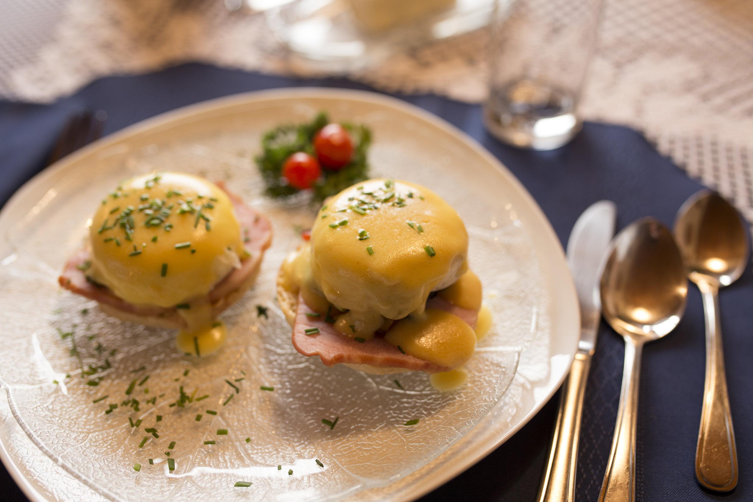 Amazing breakfast at Blue Grouse Country Inn Photographer: Matt Ferguson