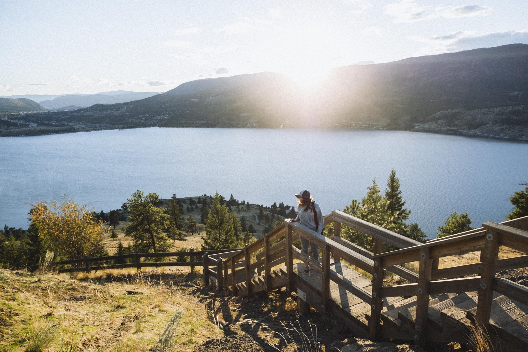 View of Okanagan Lake from Knox Mountain, Kelowna Photo credit: Megan McLellan & Emanuel Smedbol