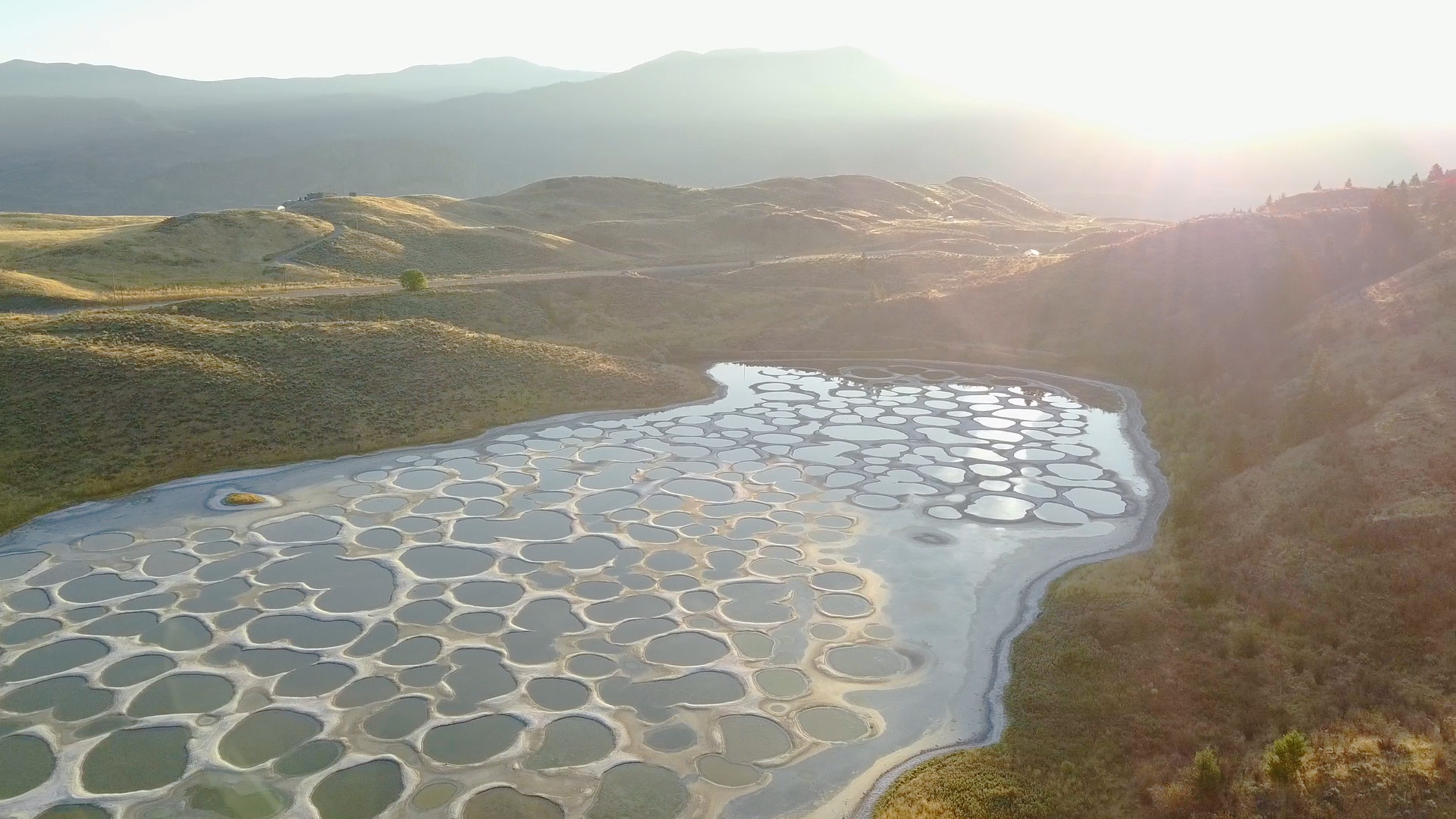 Spotted Lake, Osoyoos Photographer: Nic Collar