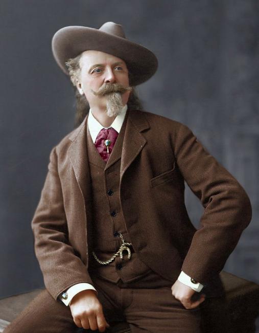 Buffalo Bill - Vers 1900 - source reddit.com Buffalo Bill - vers 1900 - source reddit.com