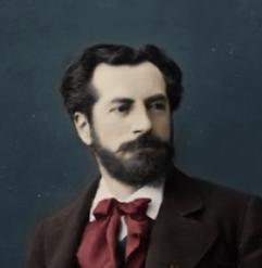source: wikipedia recolorisée - Auguste Bartholdi