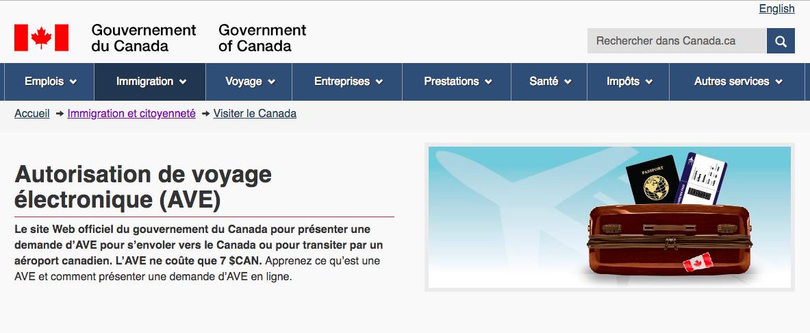 Source:  gouvernement du canada  - aout 2018