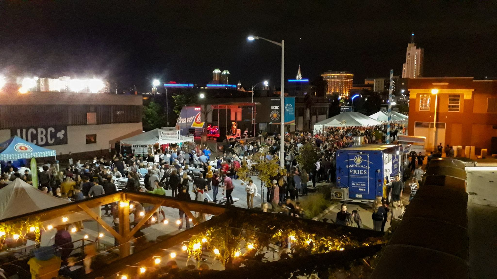 Biergarten to Big Top!   Oktoberfest St. Louis   Sept. 27-29, 2019