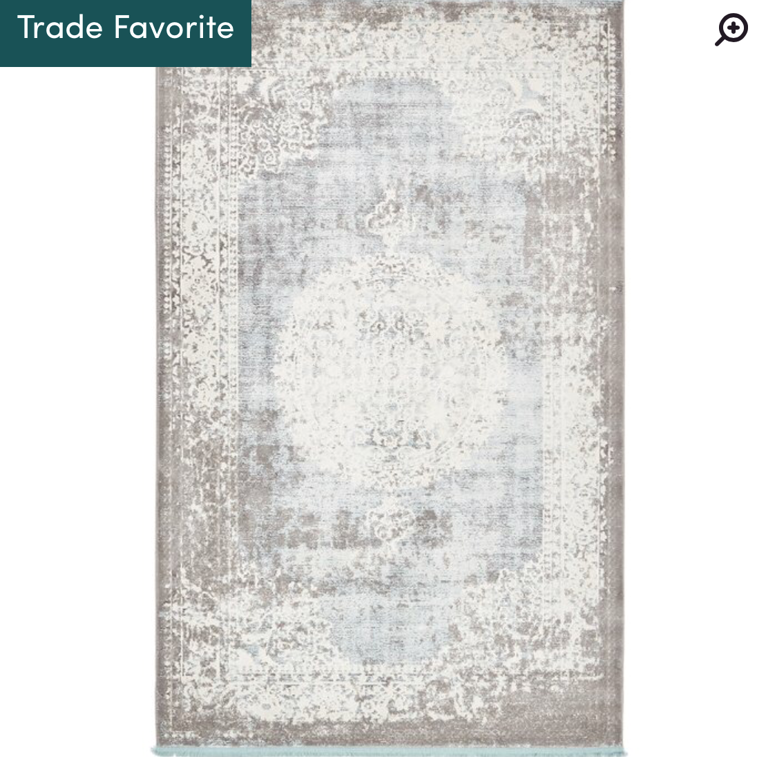 Twila Gray Rug (has some very light blue) -
