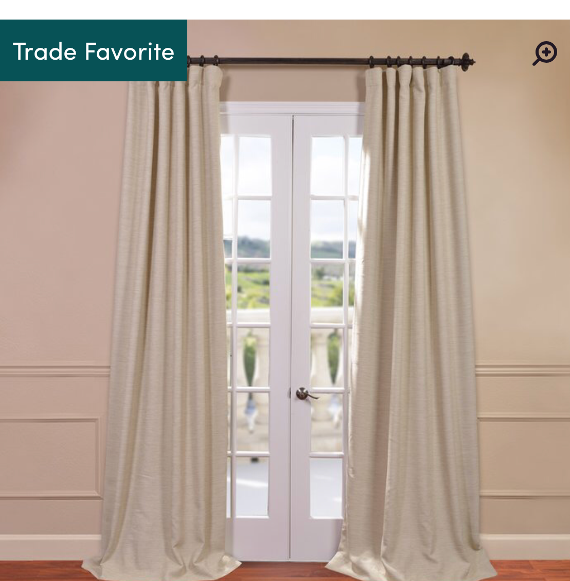 Freemansburg Room Darkening Thermal Curtains: Wayfair $40.00 -