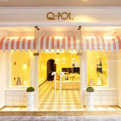 Q-POT    Honolulu, Oahu Island, Hawaii   The first American flagship for the Japanese luxury accessory brand made famous by it's food-themed jewelry and whimsical stores.
