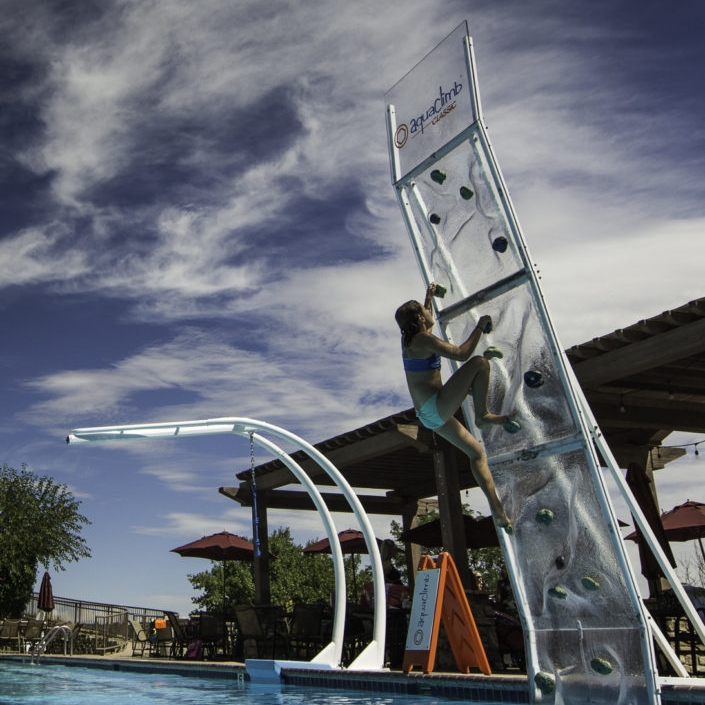 AquaClimb Classic Plus - Enhanced climbing experience with 3D contour panels!