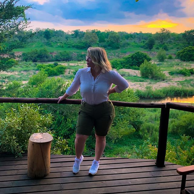 "Heading to Capetown tomorrow! Tonight is our last night in ""The Bush"" (what our local trackers and guides call it)! We had drinks and traditional South African snacks (homemade vegetable chips, jerky, beef sausage sticks) in this insane treehouse tonight overlooking the Sabi River and took in the sunset in all its glory. The last 2 days here at @lionsandsgamereserve have absolutely exceeded my expectations and have wholeheartedly been an epic adventure.  #southafrica #lionsandsgamereserve #krugernationalpark #nationalpark #africa #safari #gamereserve #gamedrive #lumix #olympus #travel #tripadvisor #beautifuldestinations  #sabisands #sabisandsgamereserve"