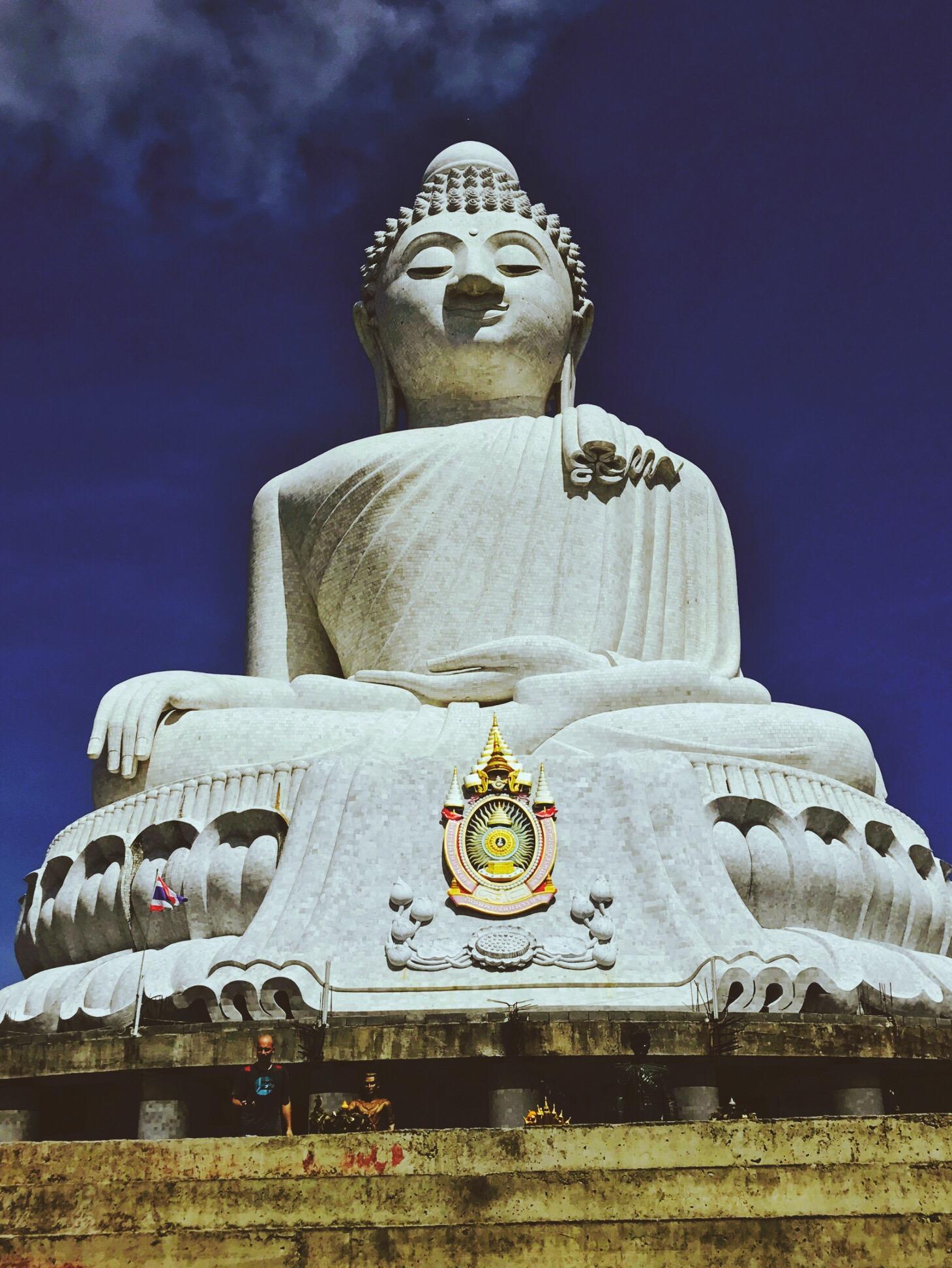 Big Buddha, Phuket, Thailand (ATV Tour booked on Viator