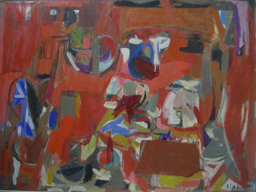 Red Still Life, 1957