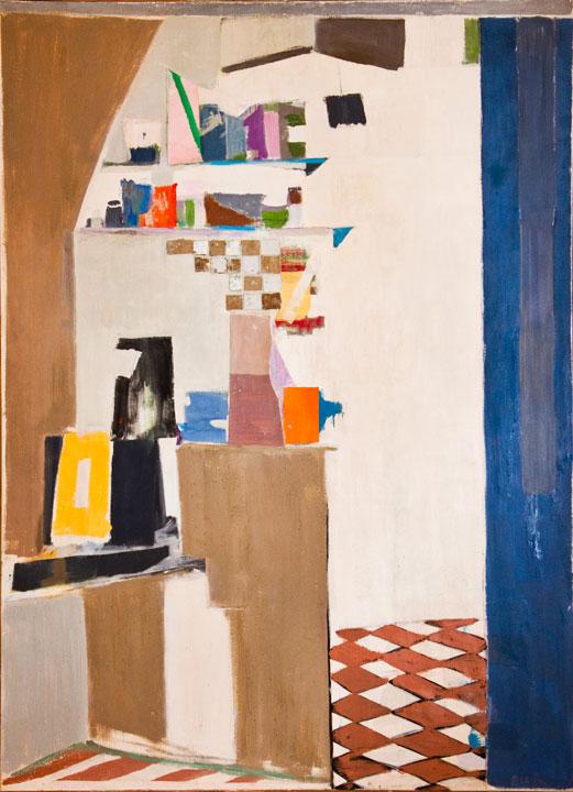 Blue Kitchen, 1969