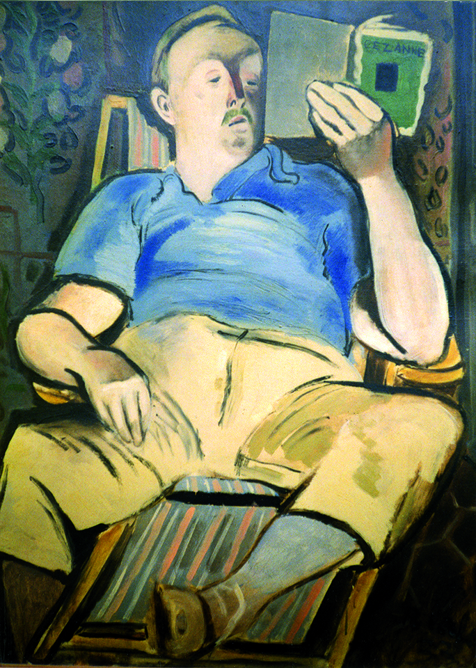 Portrait of a Critic (Ford Madox Ford), 1932