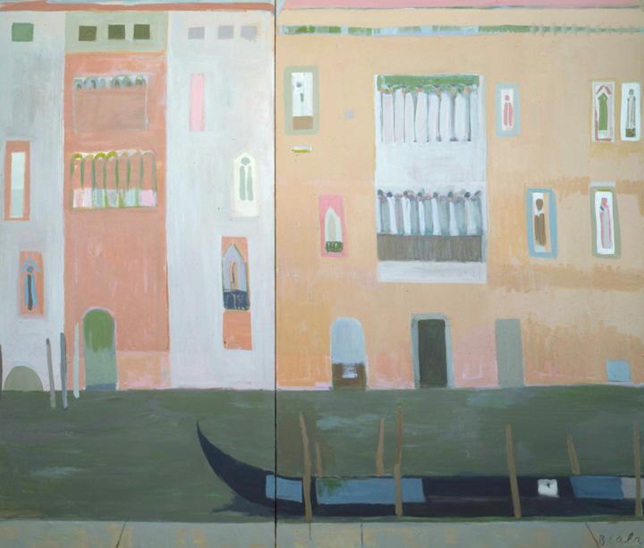 Facades avec Gondole (Grand Canal), 1982