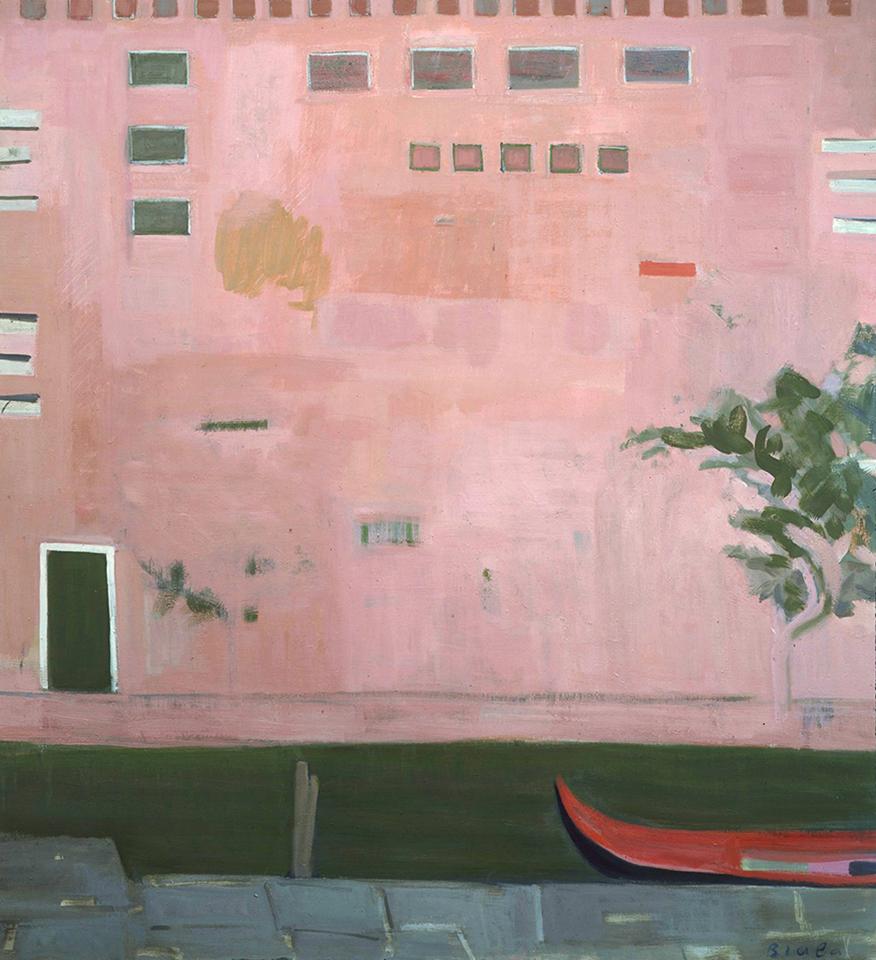 Le Mur Rose, Venice (The Pink Wall, Venice), 1982