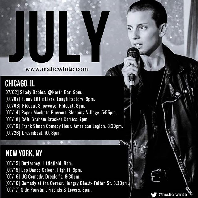 UPDATED! . . . . . . . . . . . #comedy #standup #standupcomedy #comedian #chicagocomedy #queercomedian #queercomedy #newyorkcomedy