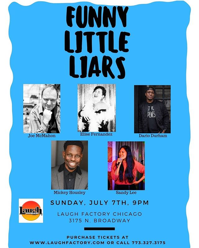I co-produce this show with @john.mccombs.98 @dariodcomedy and @heysandylee . The next one is tomorrow at 9pm! The lineup is smokin' hot. I have some comps available. DM me if you want in!!!