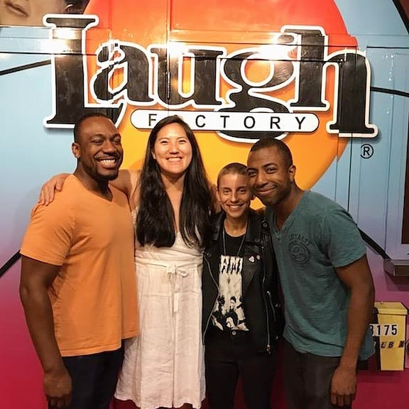 I had a great time hosting @funnylittleliarsshow last night! Catch us again next month on 9/1! . . . . . . . . . . . . #comedy #standup #standupcomedy #comedian #chicagocomedy #laughfactorychicago #laughfactory
