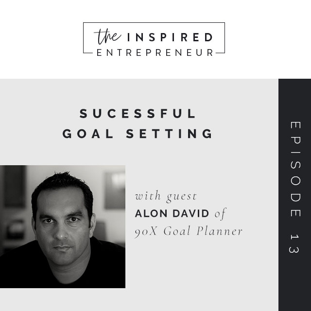 Successful Goal Setting with Alon David of 90X Goal Planner