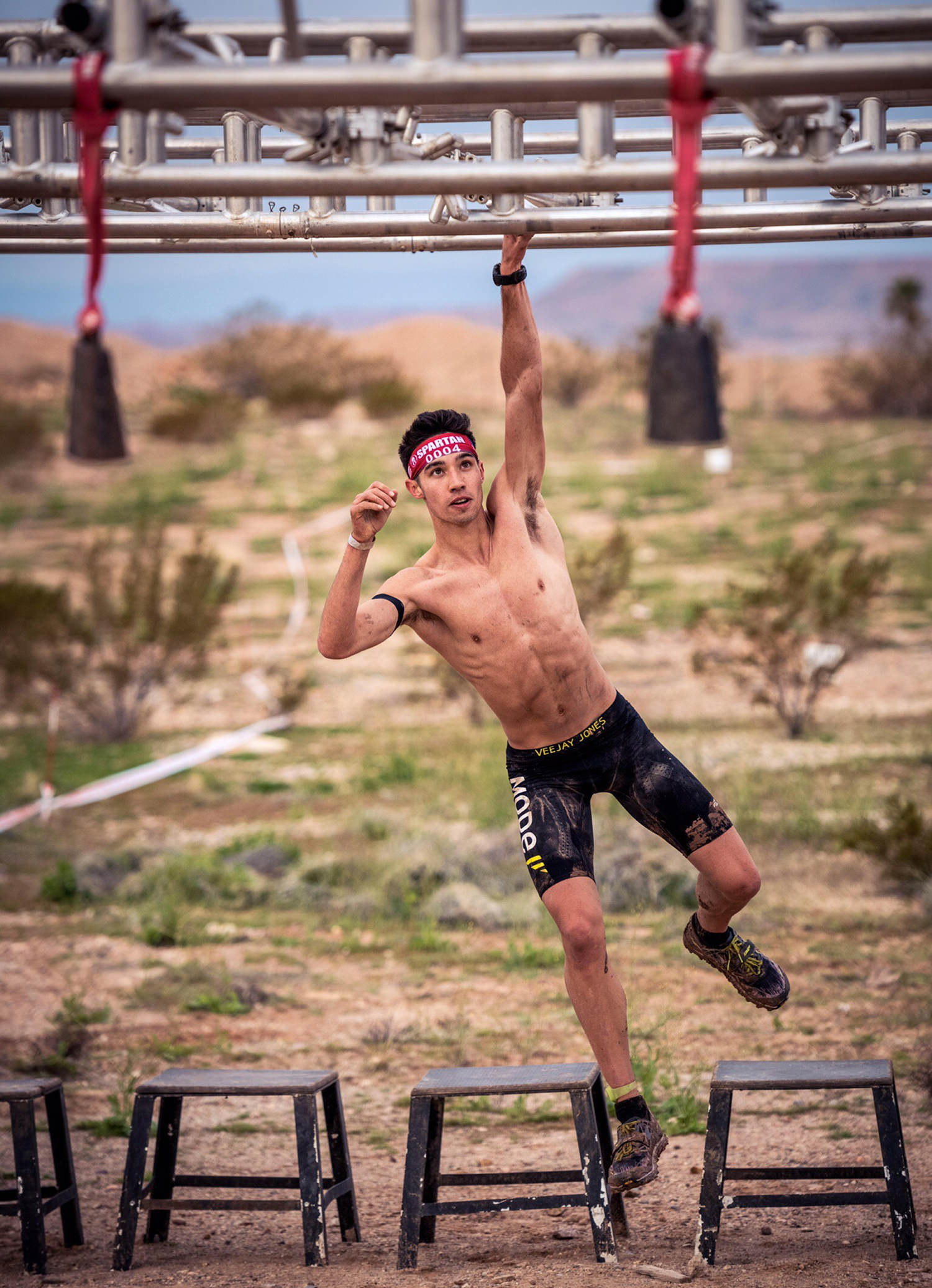 Veejay Jones is the youngest ever Spartan Race winner and nationally ranked OCR athlete
