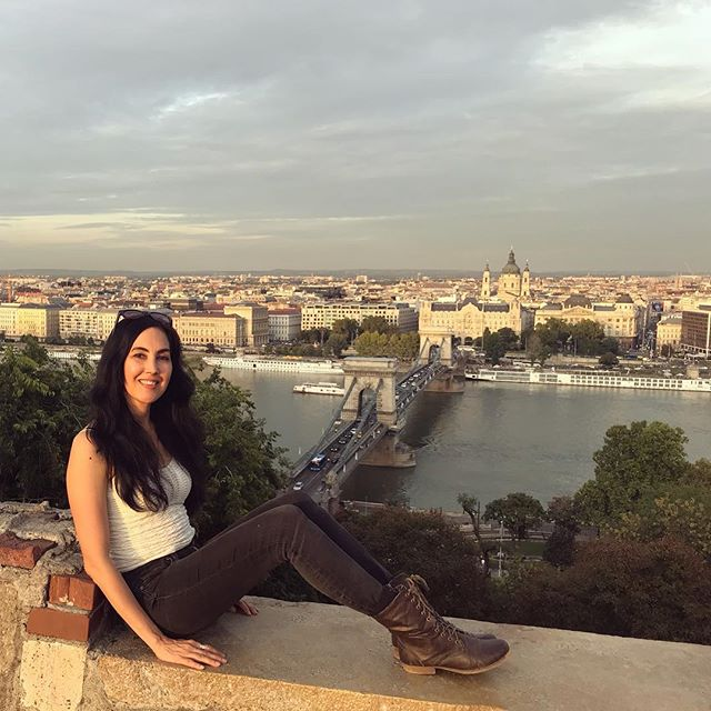 Beautiful #Budapest has views in every direction.  #solotravel #gorgeousview