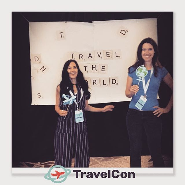 The Go Solo Girls are having fun at #travelcon18 #femalesolotraveler