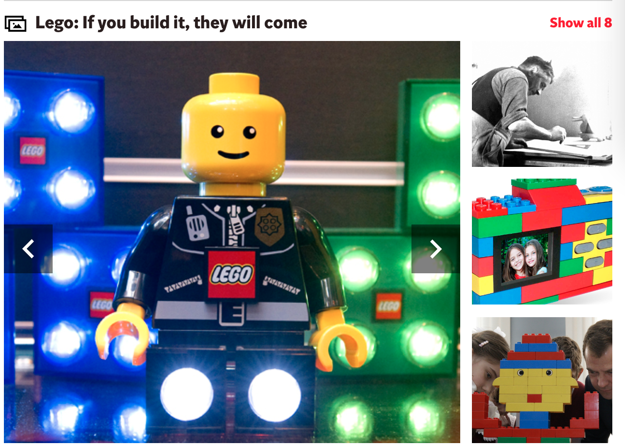Lego - reusable energy