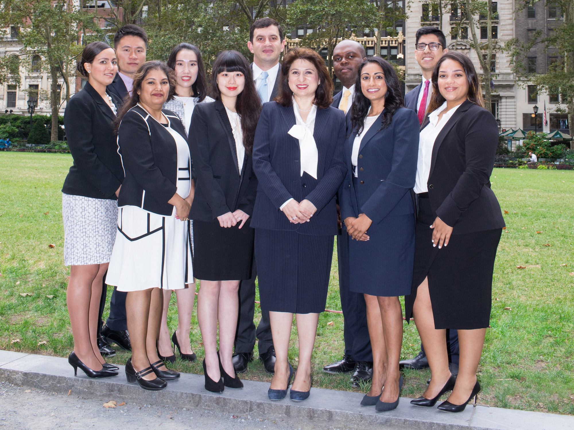 The team at Mona Shaw & Associates Global