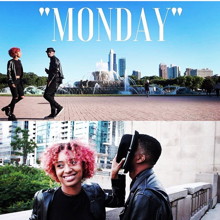 """Monday""  was  YBSNRA 's first release to all streaming platforms, and our first music video (all in house)."