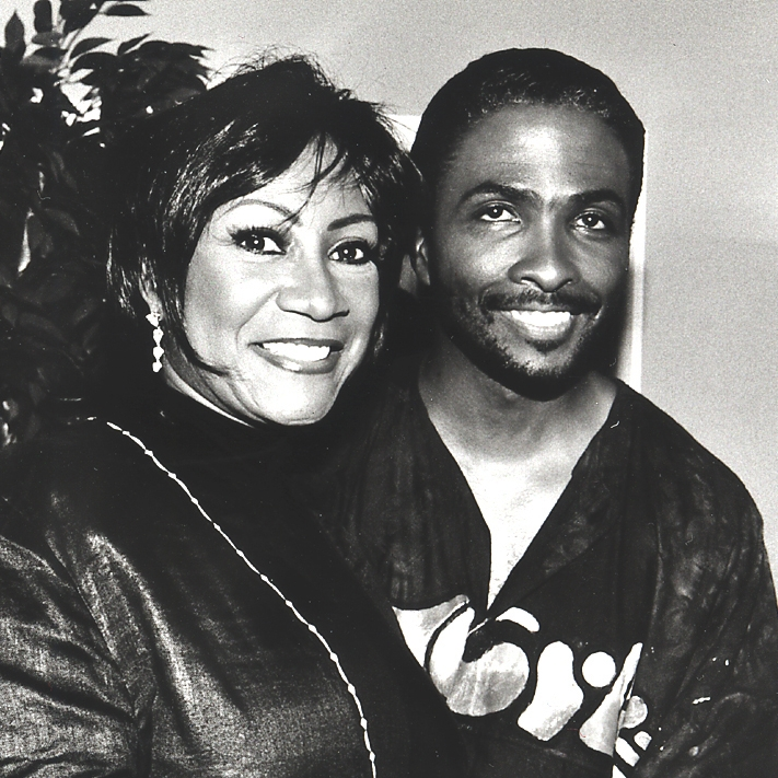 "Patti LaBelle & Morris ""Butch"" Stewart work on the ""Get With The Program"" Theme for Oprah in 2001"