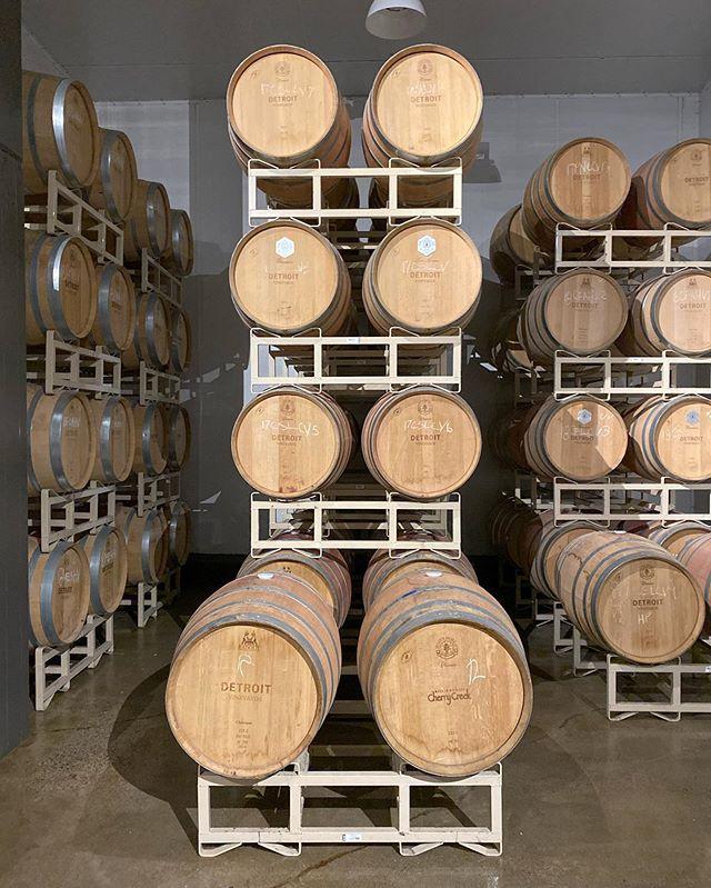 Vineyard in the City @detroitvineyards #wineoclock #detroitrevival #detroit